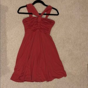 BCBG Maxazria Coral Cocktail Dress